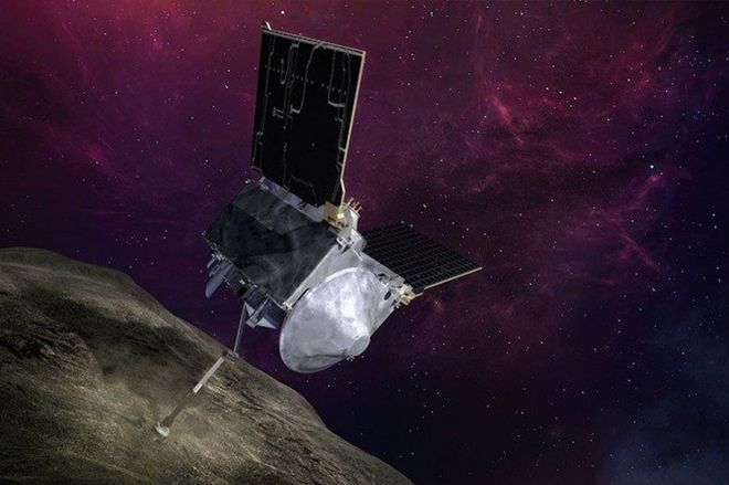 LM_OREx_dramatic_01.jpg.pc_adaptive.full.medium.0 NASA's OSIRIS-REx probe successfully stores small sample of asteroid rocks in its belly | The Verge