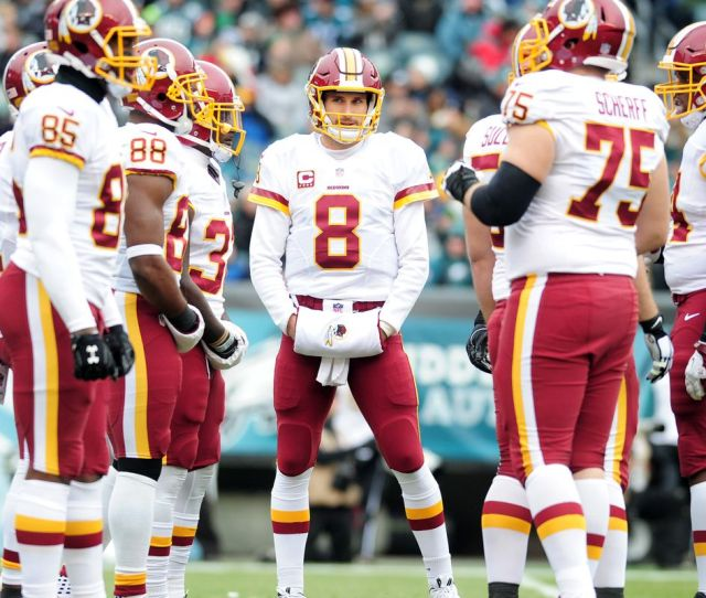 Check Out Their  Free Agents Washington Redskins Can Easily Afford To Sign Kirk Cousins But Should They