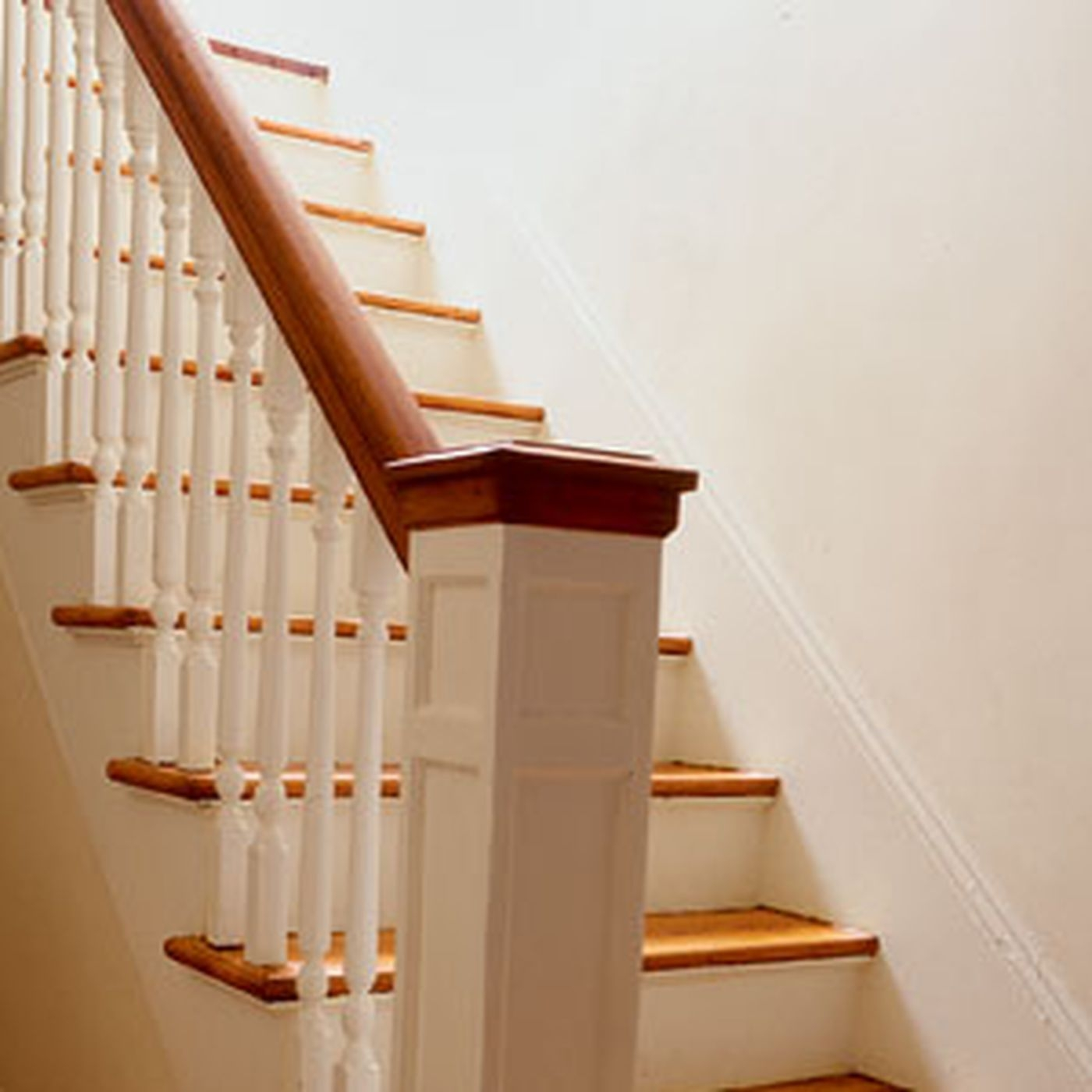 Replacing Balusters This Old House | Banister Rail And Spindles | Square | Traditional | Carved Wood | Residential | Glass