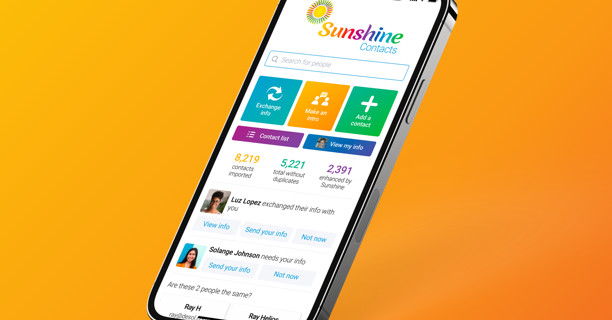 Sunshine Contacts is an invite-only address book app from Marissa Mayer's new startup