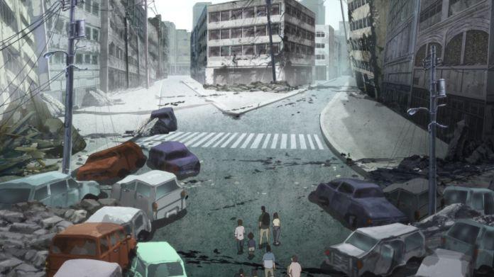 The earthquake in Japan Sinks 2020