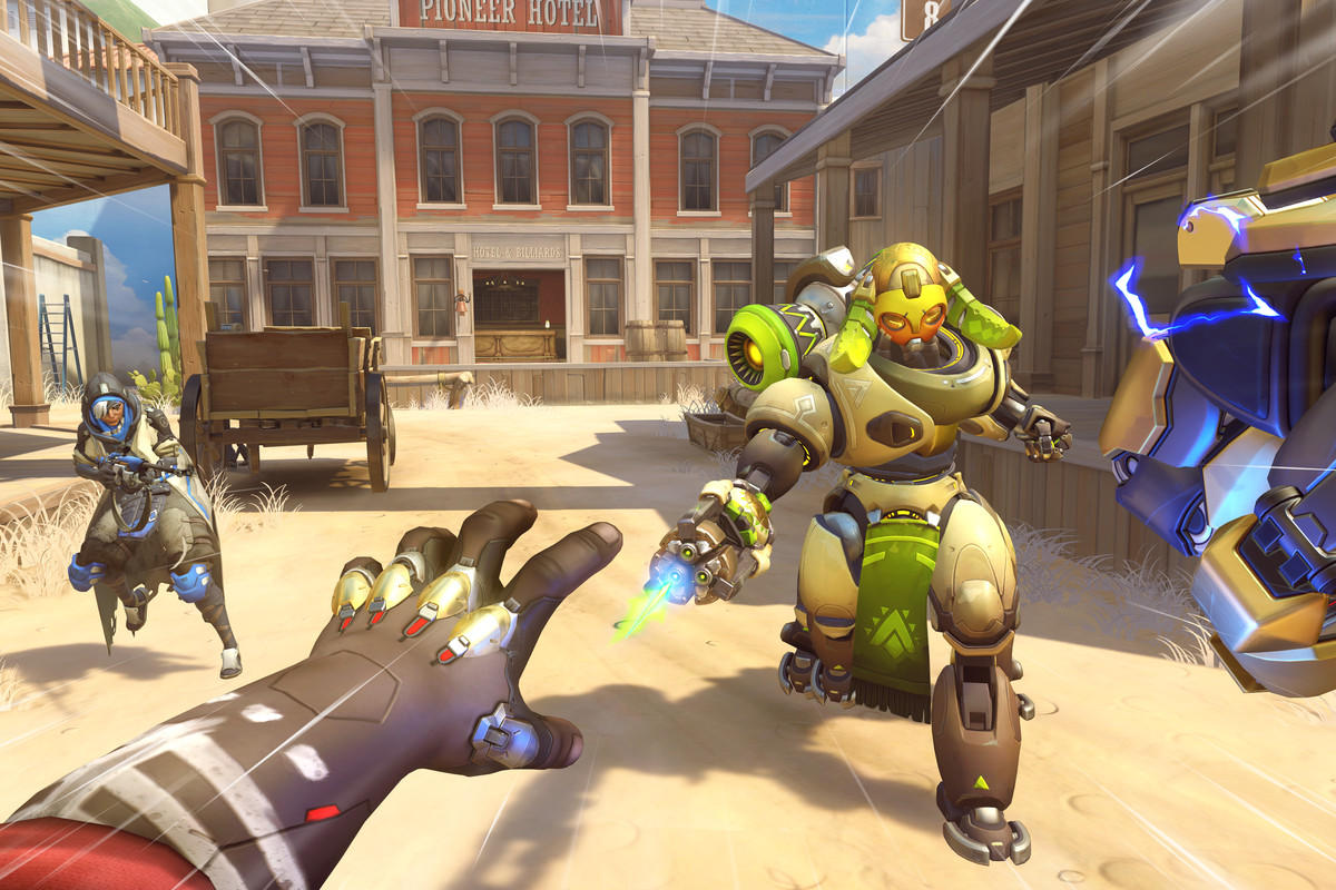 Doomfists PTR Hero Interactions Hint At Overwatchs Next Conflicts Heroes Never Die