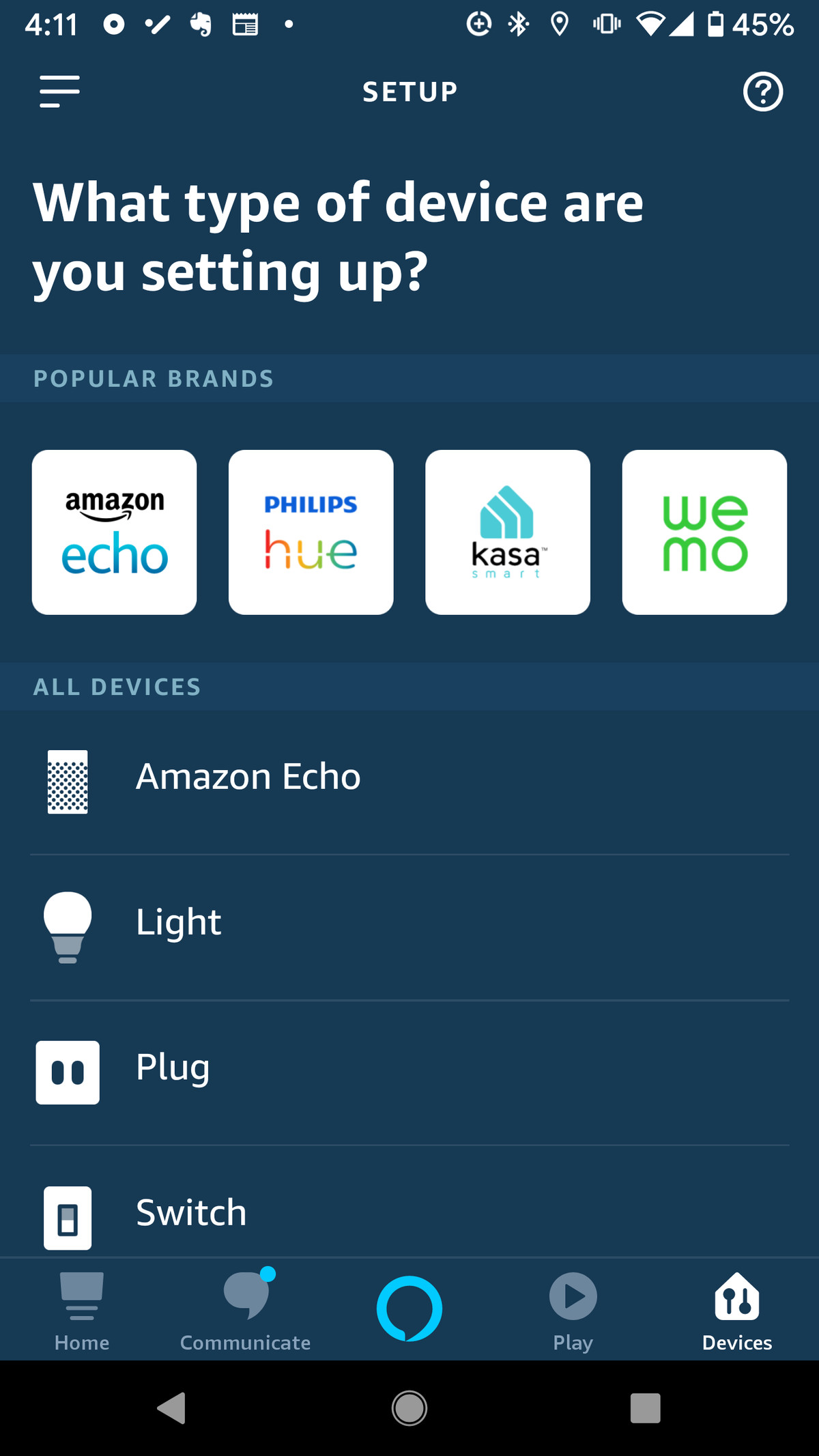 how to use alexa to turn on the lights