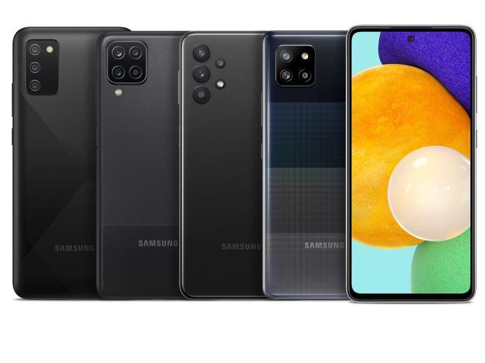 Samsung Galaxy A52 5g A42 5g A32 5g A12 And A02s Make Us Debut The Verge