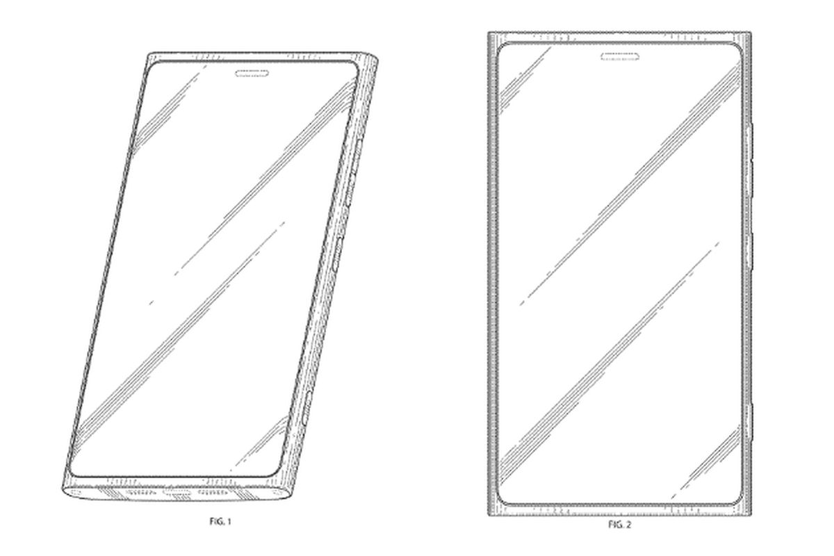 Nokia Phi Design Confirmed By Newly Issued Patent