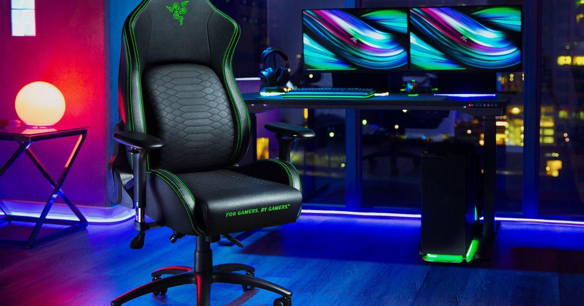 Razer gaming chair unveiled at RazerCon 2020