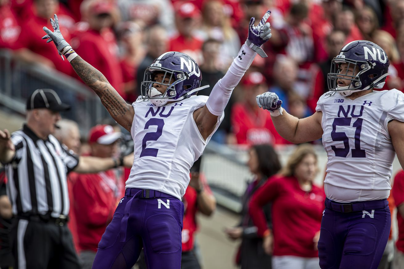 COLLEGE FOOTBALL: SEP 28 Northwestern at Wisconsin