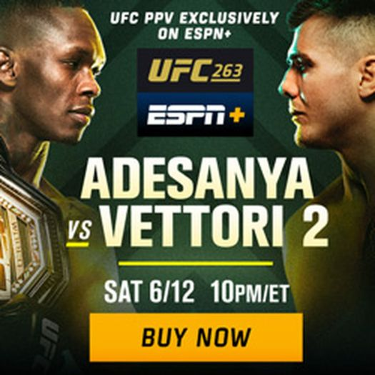 UFC 263 results: Israel Adesanya vs Marvin Vettori 2 full fight stream, round-by-round updates 2