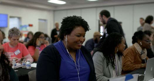 stacey abrams in all in: the fight for democracy
