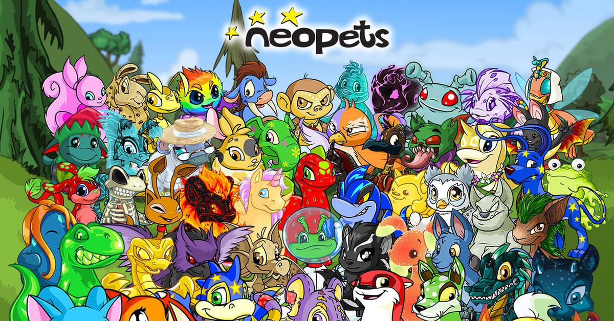 Neopets are being converted to NFTs because of course they are