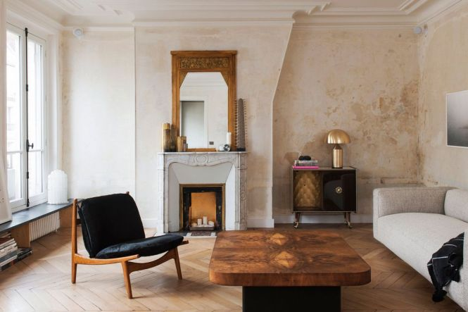 Classic Paris Apartment Goes Minimal With Stark Renovation
