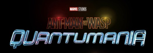 a title card that says Ant-Man & The Wasp: Quantumania