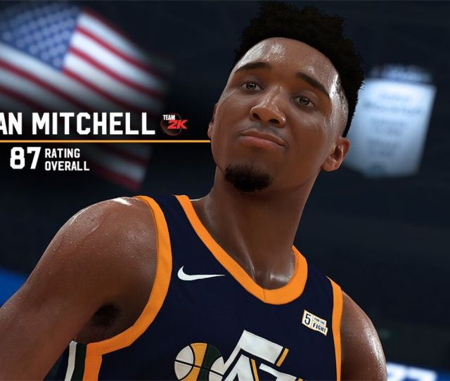 Nba 2k Has Been Releasing Player Ratings And Donovan Mitchells Has Now Been Released Check Out Yesterdays Downbeat For More On That