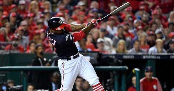 Designated hitter candidates for the Washington Nationals in the World Series