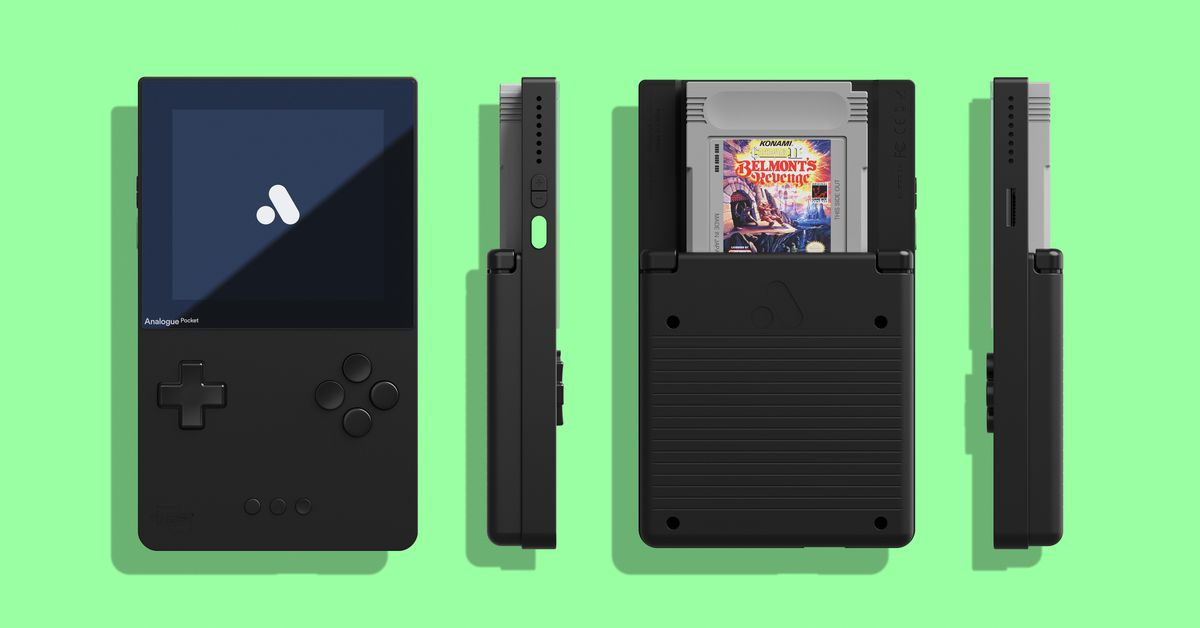 Analogue's Pocket is the latest gadget delayed due to the ongoing global electronic componentsshortage