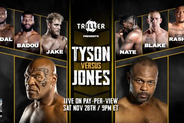 Mike Tyson vs Roy Jones Jr: Will you order the pay-per-view? - Bad Left Hook