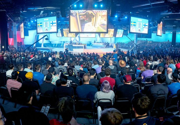 Image result for blizzard arena los angeles