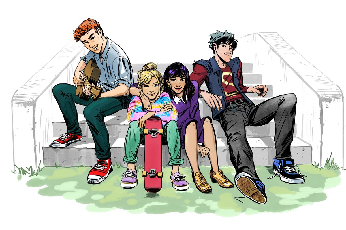 Image result for archie comics updated