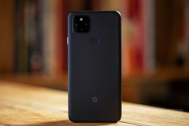The Pixel 4A 5G has a plastic body