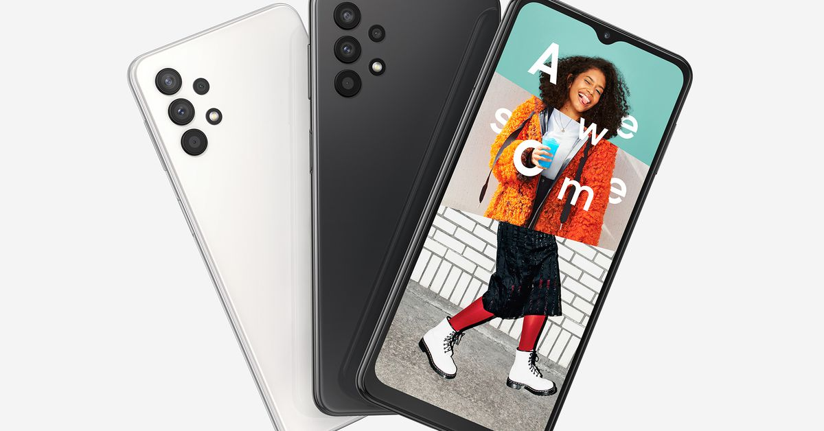 The Samsung A32 5G is the company's cheapest 5G phone