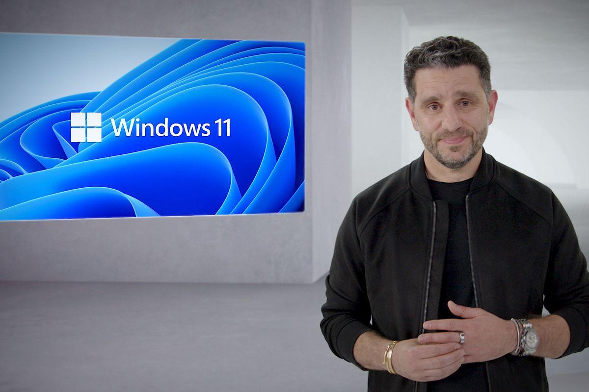Panos Panay Unveils Windows 11