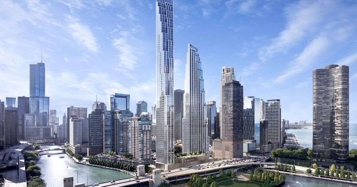Chicago Spire Site From Failed Skyscraper To SOM Designed