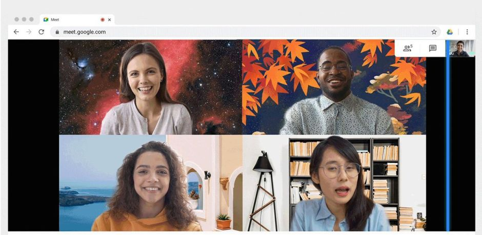 Google Meet will allow you to use custom background for video calling