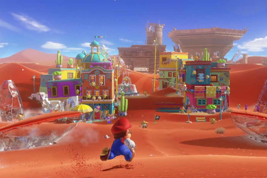 Best video games for architecture and design nerds   Curbed    Sand Kingdom    in Super Mario Odyssey