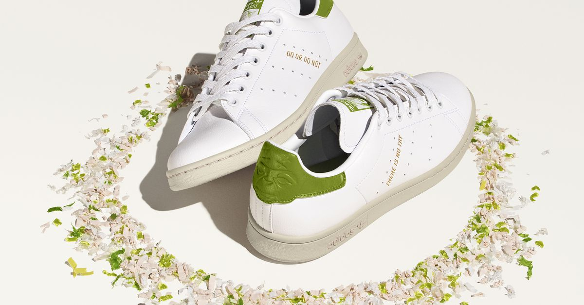 Yoda has no time for shoes, but you might for Adidas' Yoda-themed sneakers
