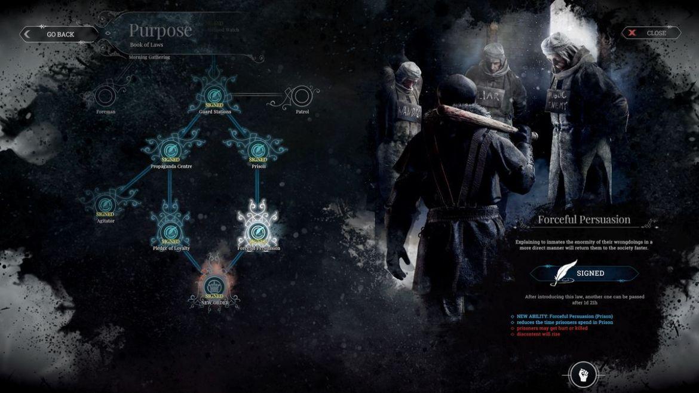 لعبة Frostpunk