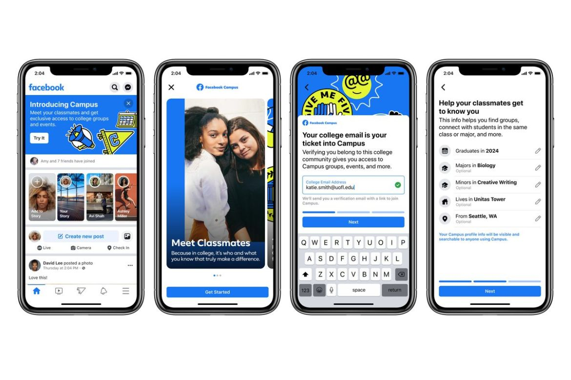 How To Use Facebook Campus Feature For College Students?