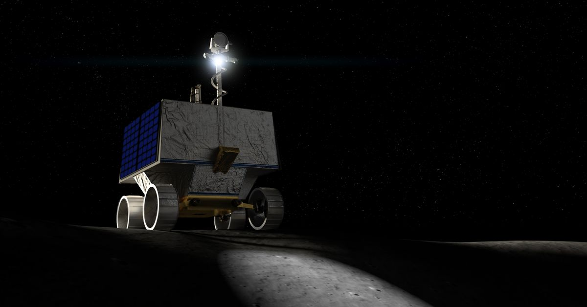 NASA picks a lander to hold its water-hunting robotic to the moon