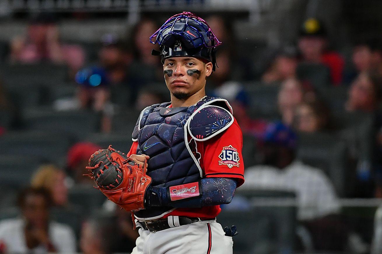 MLB: JUL 02 Marlins at Braves