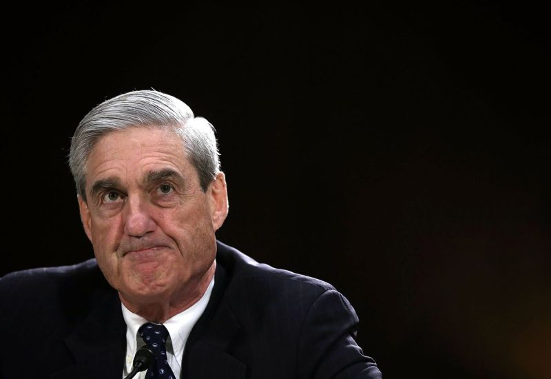 Special counsel Robert Mueller.