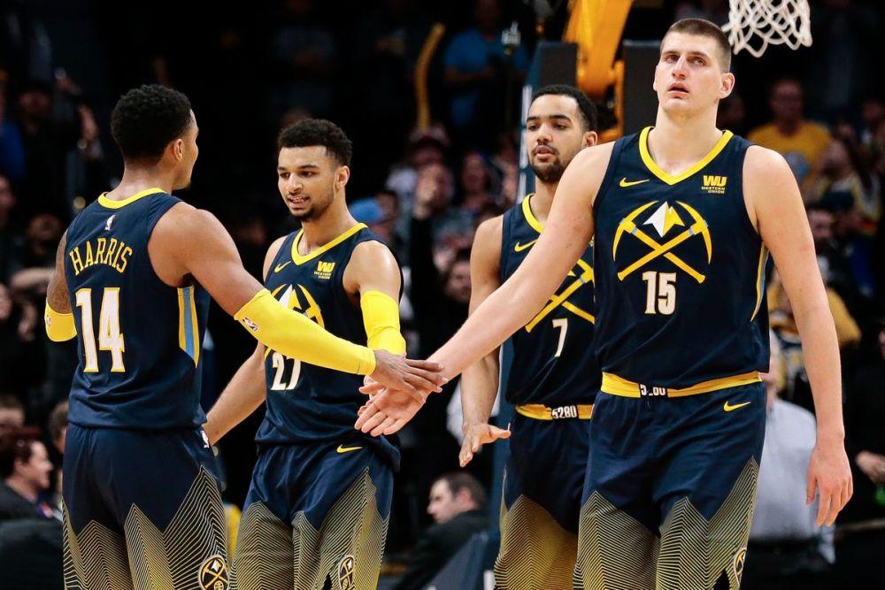 Denver nuggets semaine un NBA