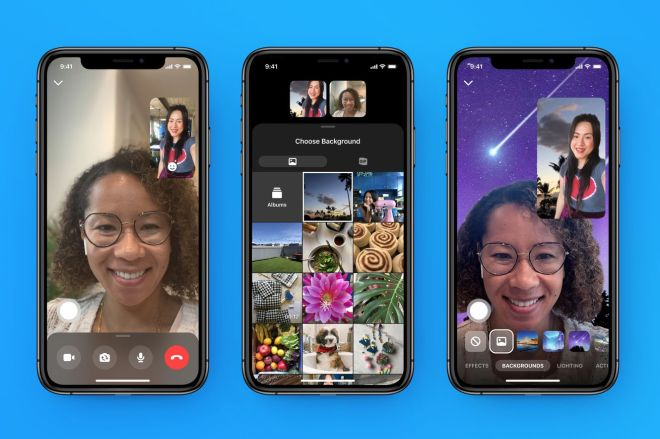 Messenger_Custom_Backgrounds.0 Facebook will let creators put their AR effects in Messenger and Portal | The Verge