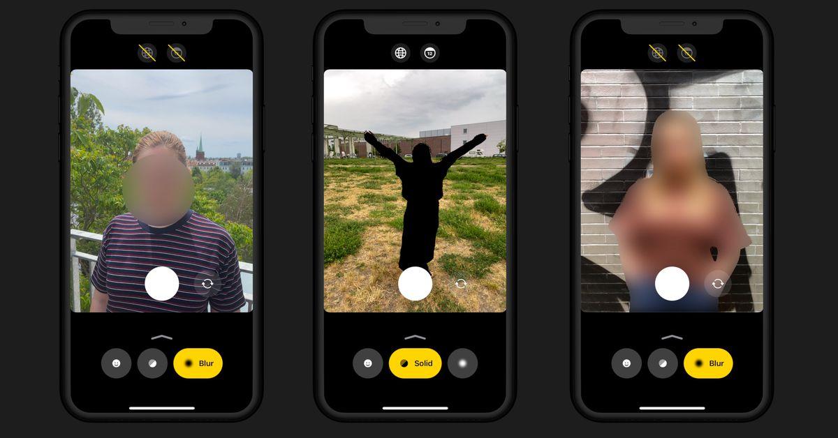 Comment faire : Anonymous Camera est une nouvelle application qui utilise l'IA pour anonymiser rapidement des photos et des vidéos