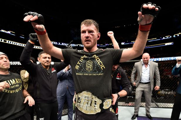 Stipe Miocic vs. Daniel Cormier heavyweight title fight set for ...