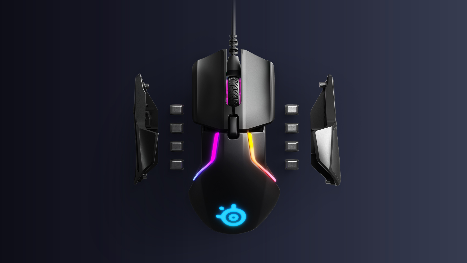 SteelSeries New Rival 600 Gaming Mouse Tracks Your