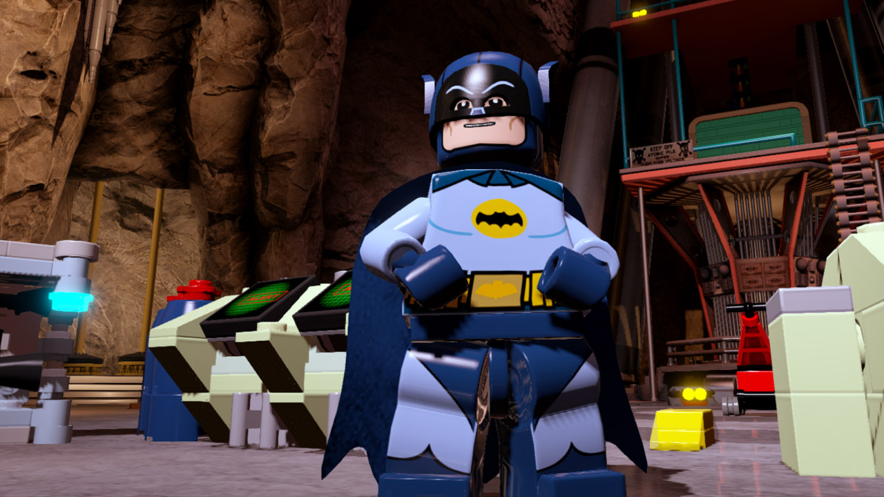 The cheesy  60s Batman and Robin are in Lego Batman 3  and so is Bat     The cheesy  60s Batman and Robin are in Lego Batman 3  and so is Bat Cow