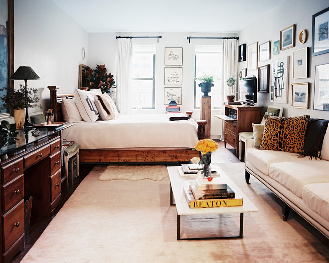 Small New York City Apartment With Washing Machine