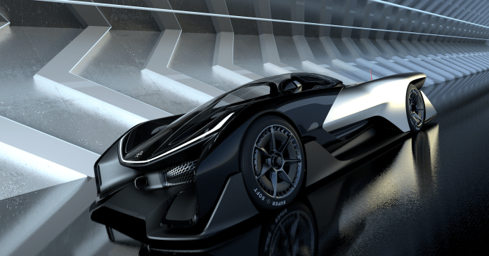 this is faraday future's ridiculous 1,000-horsepower electric