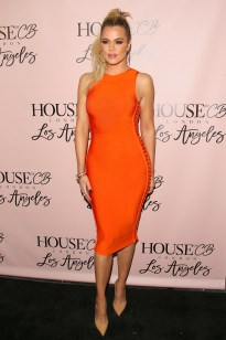 Image result for orange dress celebrity