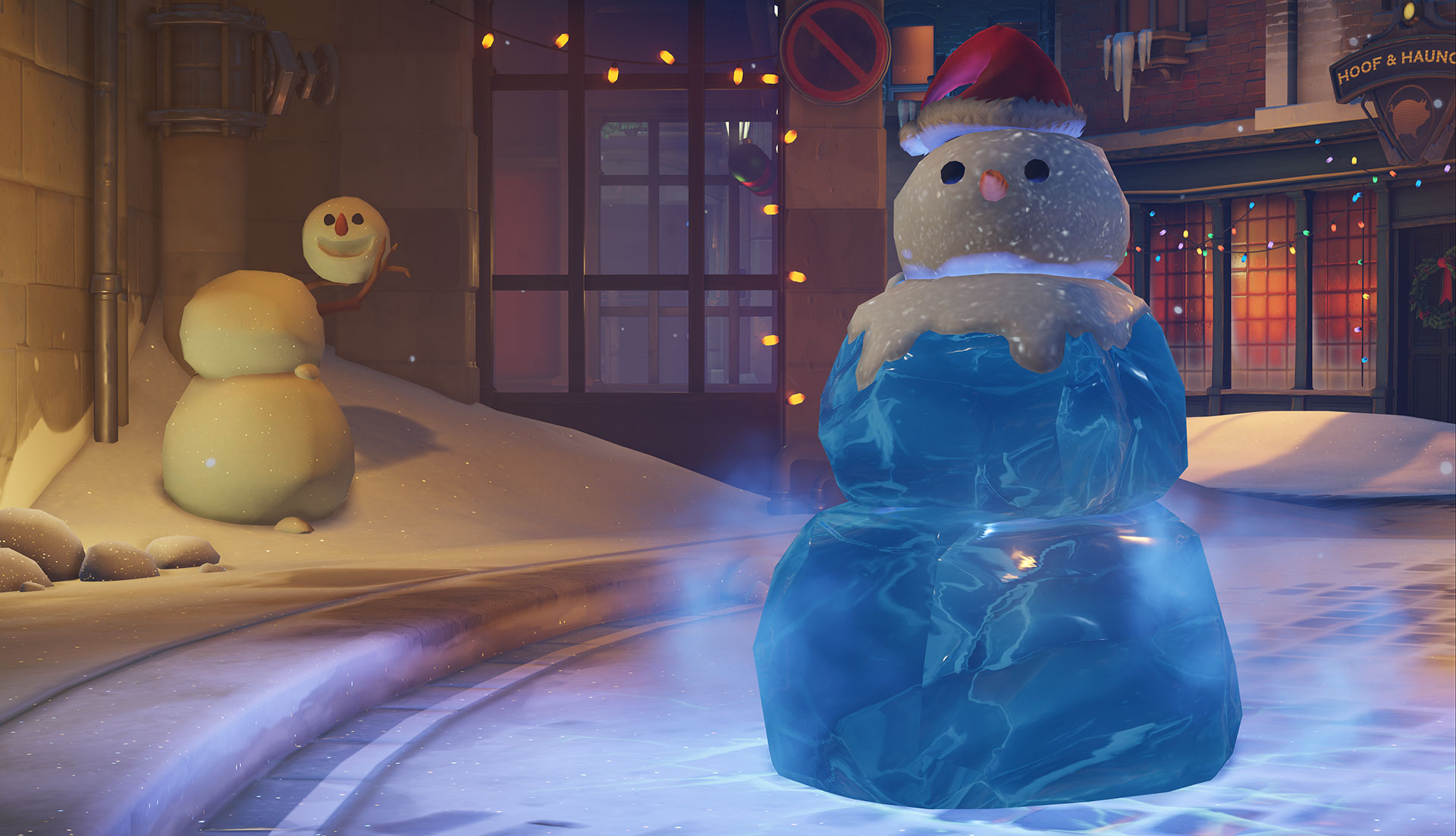 Overwatch Winter Event Brings Holiday Jeers Over Meis New