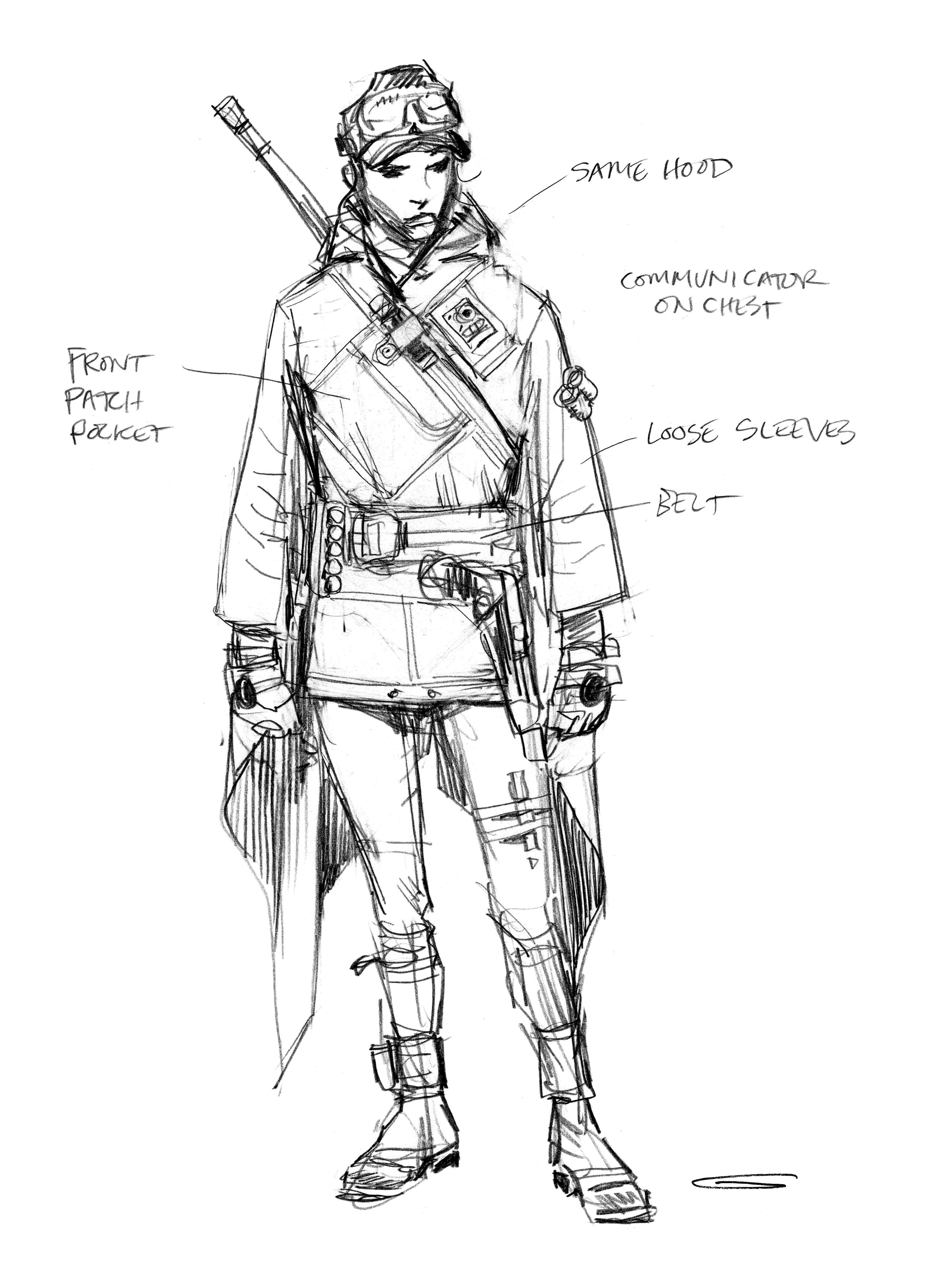 Rogue One Art Book Reveals The Transformation Of Its