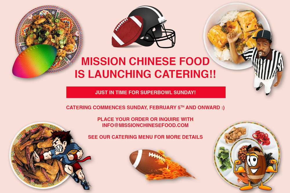 Mission Chinese Launching Catering Just In Time To Throw A