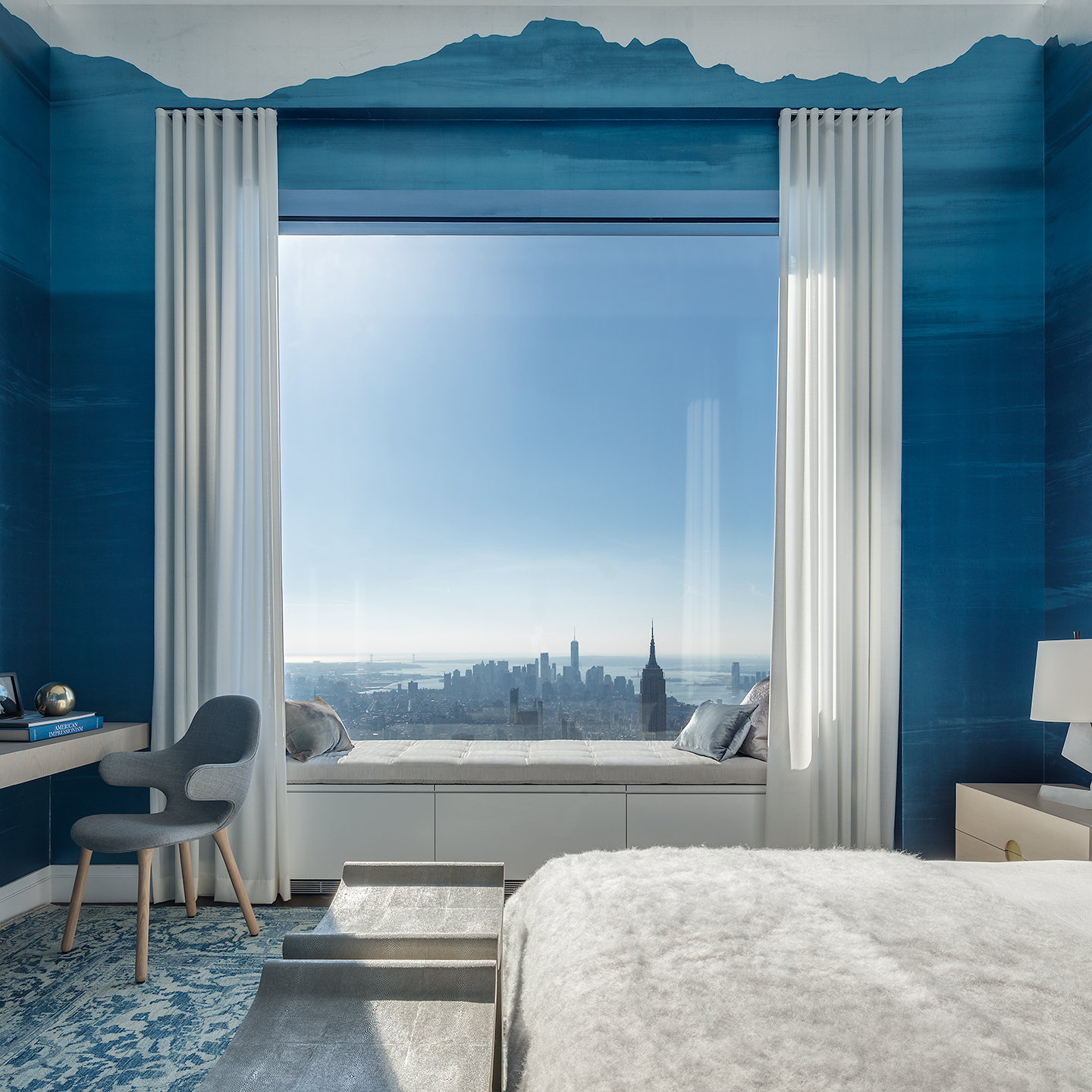 Peek Inside 432 Park Avenues 40M 92nd Floor Penthouse Curbed NY