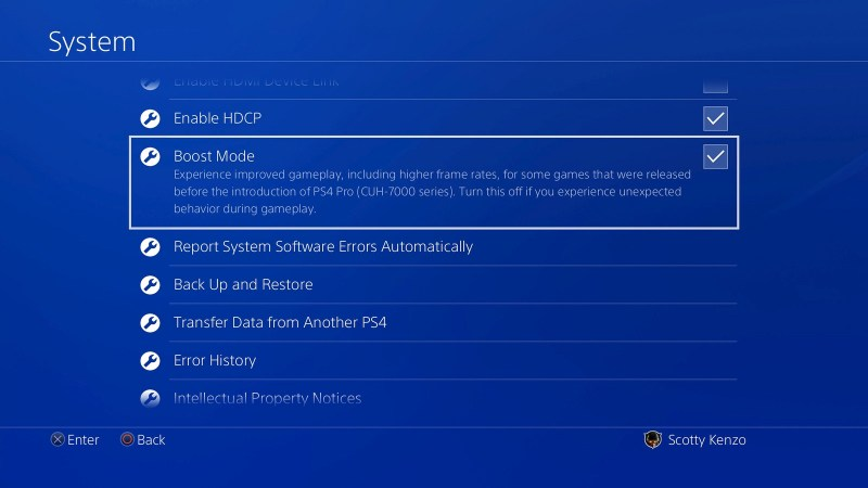 PS4 system now supports extended storage feature