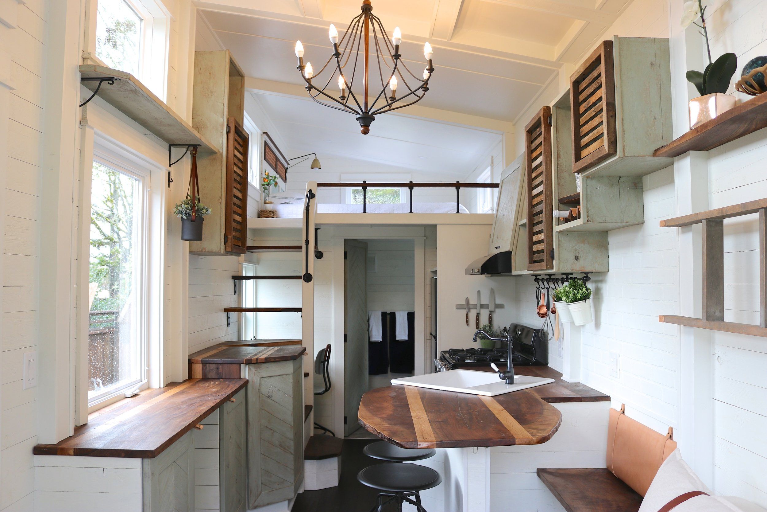 Tiny House Packs Farmhouse Chic Into 240 Square Feet Curbed