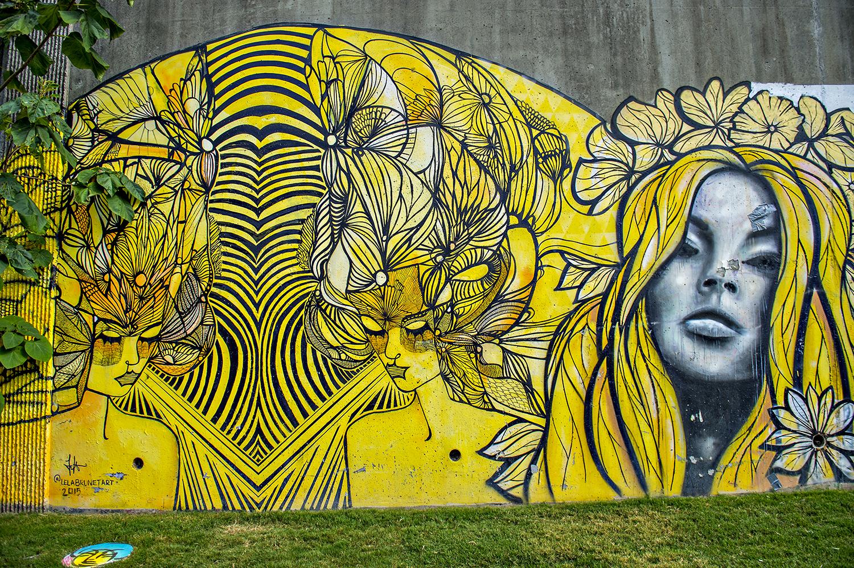 Keith Haring Berlin Wall Mural